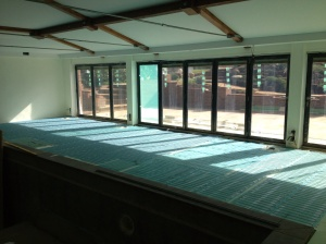 Swimming Pool Electric Under Floor Heating